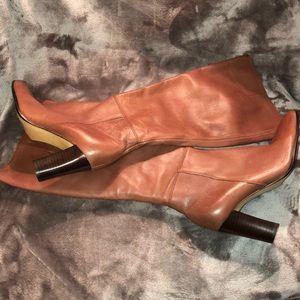 Nine West Block-Heeled Boots